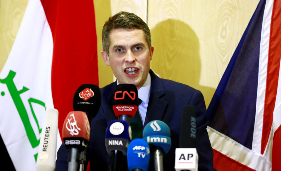 Gavin Williamson news