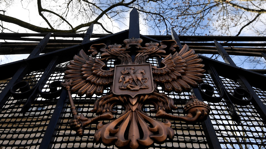 Russian ambassador to UK confirms expelled diplomats will leave on March 20