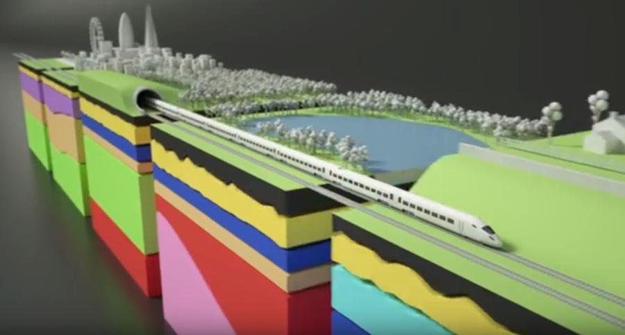 Ancient London coastline found during rail excavation (IMAGES, VIDEO)