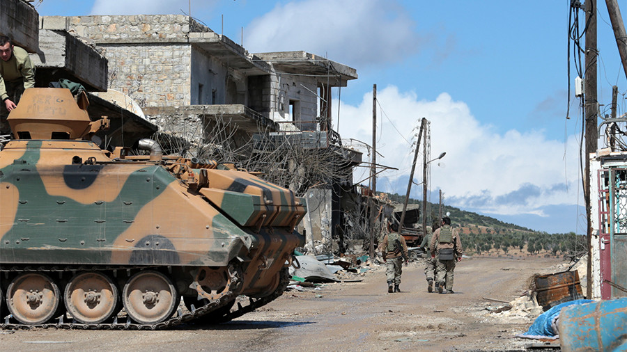 Erdogan: Syria's Afrin city center 'entirely under control,' Kurds 'fled' (VIDEOS, PHOTOS)
