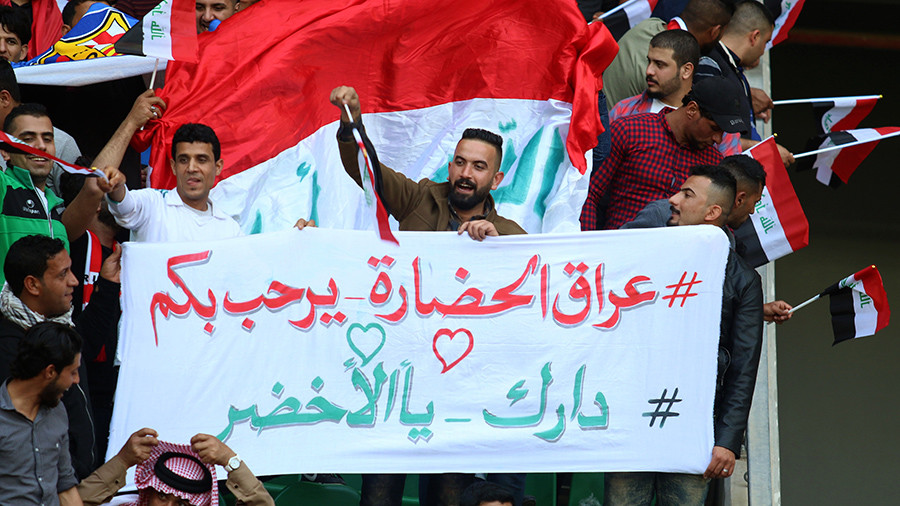 FIFA lifts 28yr ban on Iraq international friendlies in place since Saddam invasion
