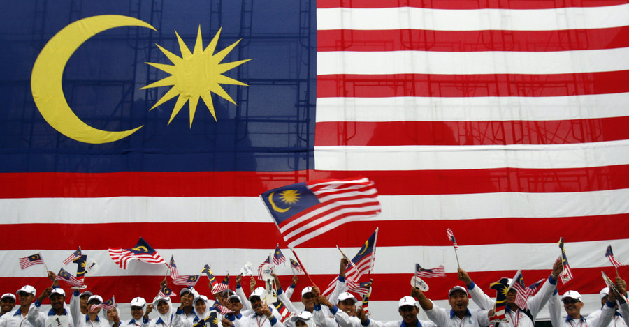 Discrimination complaint after Malaysian flag mistaken for ISIS banner