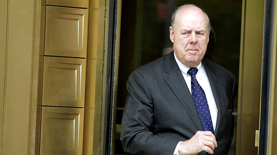 John Dowd resigns as Trump's top attorney in Mueller's Russia probe