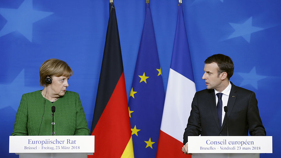 Merkel, Macron convinced by London's 'evidence' implicating Russia in Skripal case