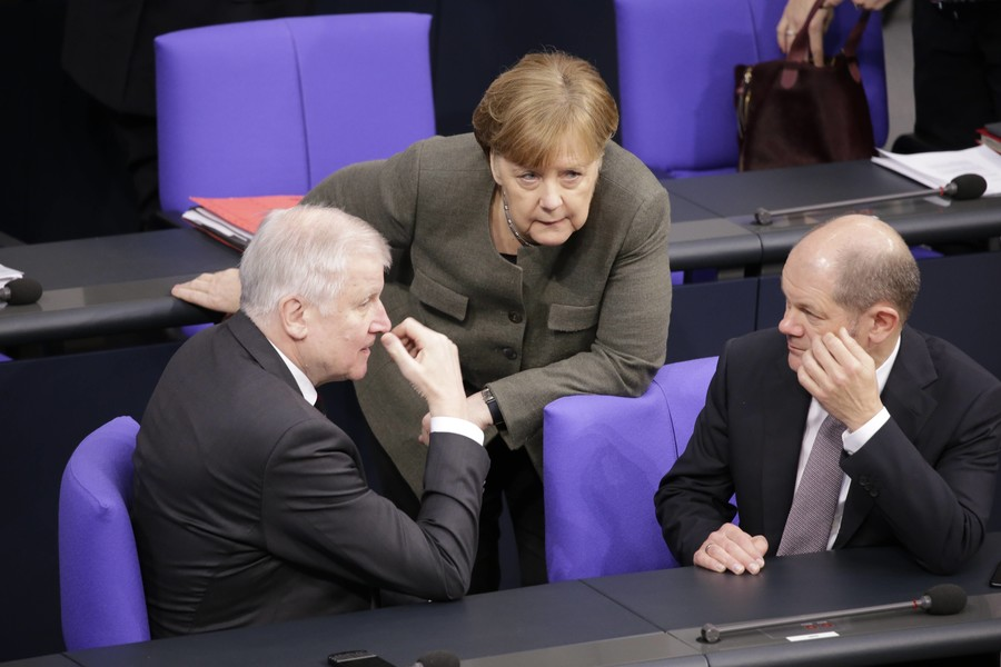 Circular firing squad: Germany's long-awaited government might yet prove to have critical weaknesses