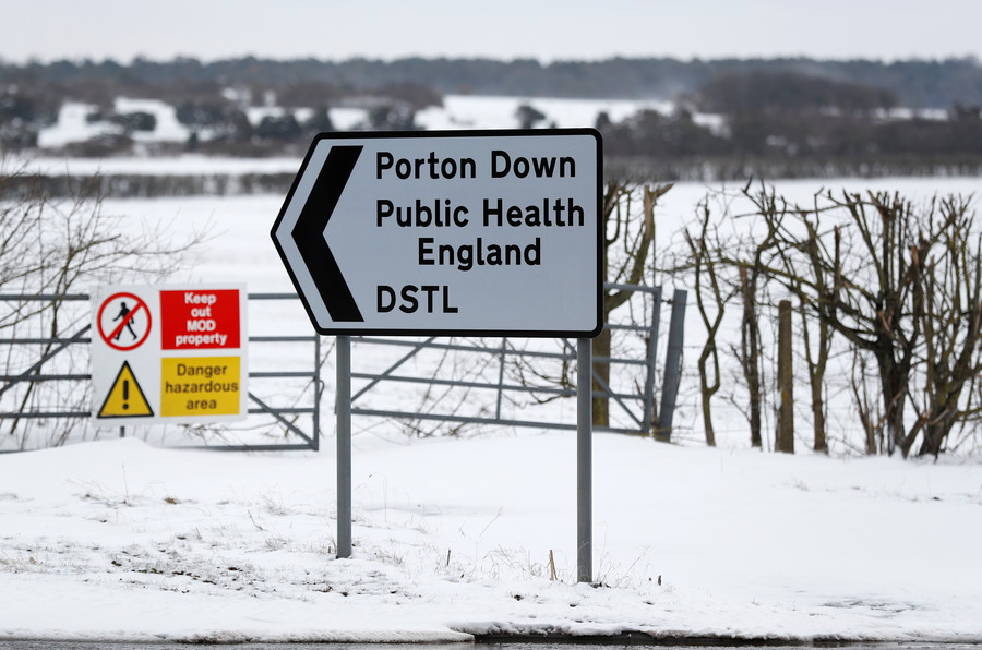 'No way' nerve agent could escape UK lab? Russia demands info on Porton Down toxin research
