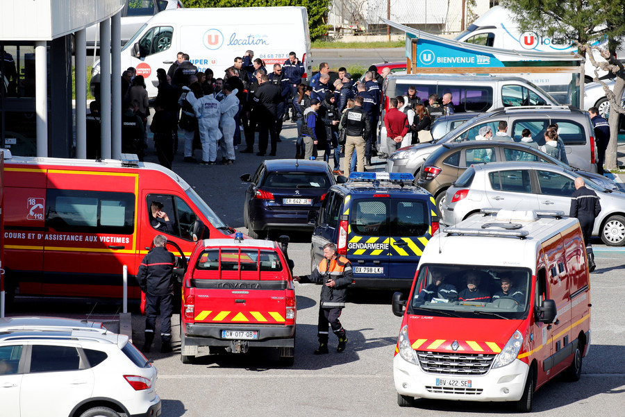 Twitter blames Paris for failing to stop Trebes gunman, once regarded as national security threat
