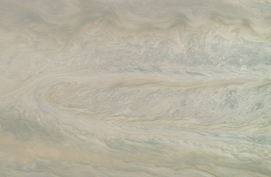 3D flyover of Jupiter reveals planet's menacing cyclones (VIDEOS)