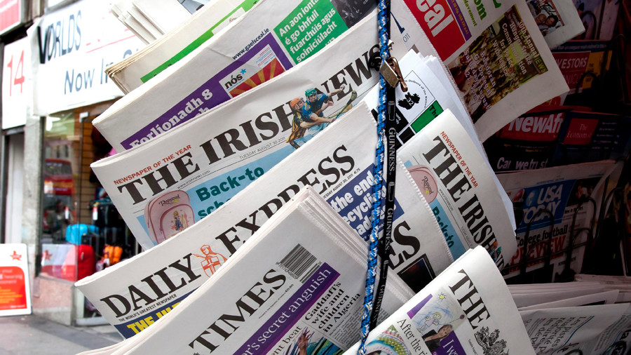 Russian embassy 'spy-nest': British media brings its anti-Russia hysteria to Ireland