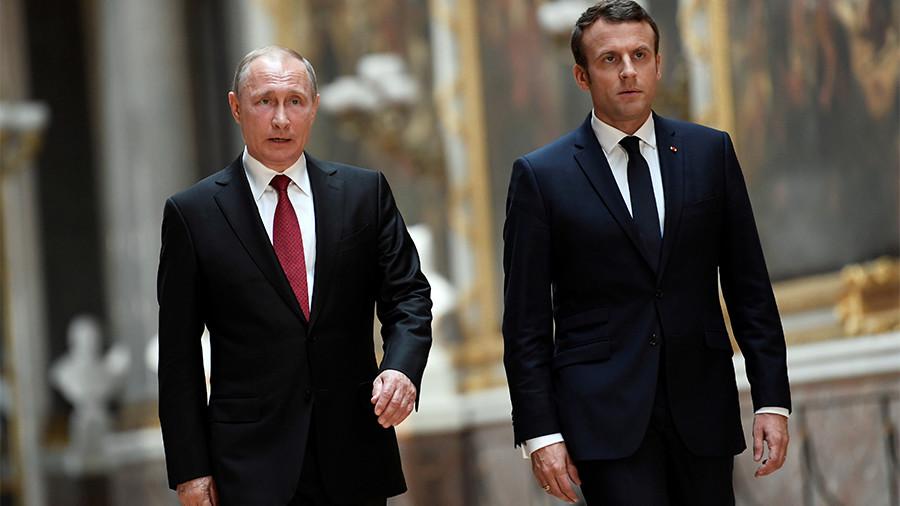 Putin & Macron will still meet despite diplomatic row over Salisbury case