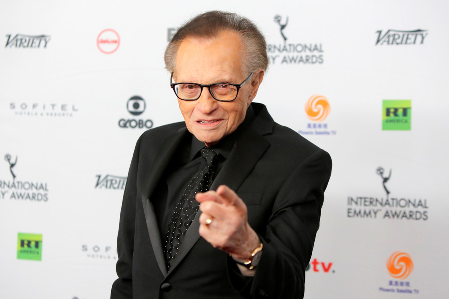 Larry King: Second Amendment created 'to ward off slave uprisings'