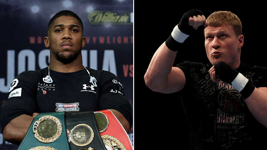 'Huge' Joshua-Povetkin heavyweight fight could take place in Moscow
