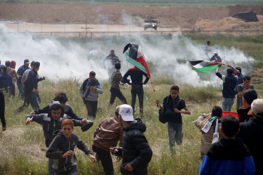 Palestinian killed by Israeli tank fire amid mass protests on Land Day, local authorities claim