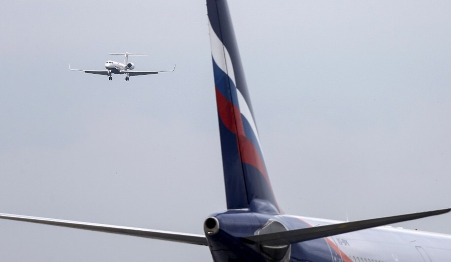 Britain says Aeroflot plane was searched to protect UK from 'organized crime & harmful substances'