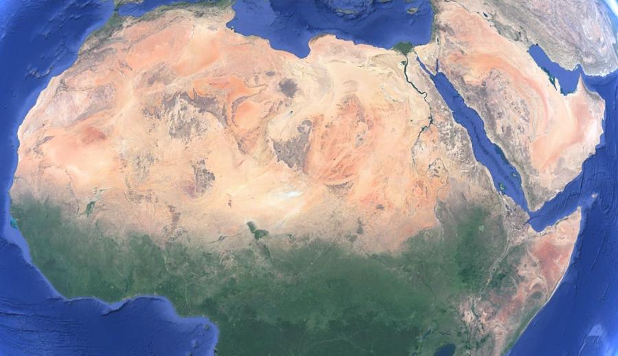 Sahara desert is 10 percent bigger than 100 years ago