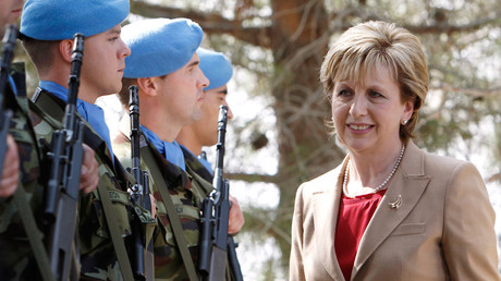 Former Uachtaran Mary Mcaleese on the dangers of a border between Northern Ireland and Eire
