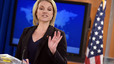 State Department Spokesperson Heather Nauert © Mandel Ngan
