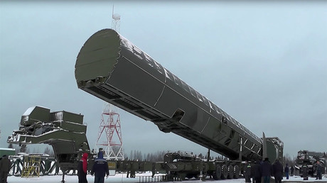 Sarmat, new Russian intercontinental ballistic missile. © Минобороны России