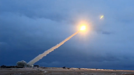 Cruise missile of unlimited range © Минобороны России