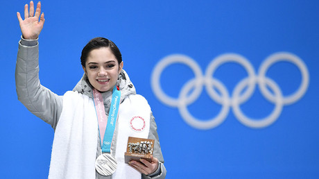 Russian figure skater Medvedeva out of world champs due to recurring leg injury