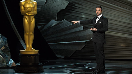 Jimmy Kimmel at the 90th Academy Awards on Sunday © Aaron Poole