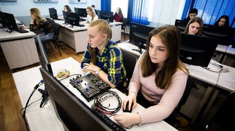 The first Cybersecurity Agency in Russia has opened in Vladivostok at the Vladivostok State University of Economics and Service. The new Cybersecurity Agency of the Far Eastern Federal District © Anton Balashov