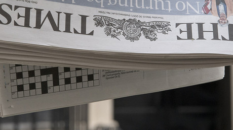 Dead or not? The Times breaks news of ex-Russian spy death on its front page… but it isn't true