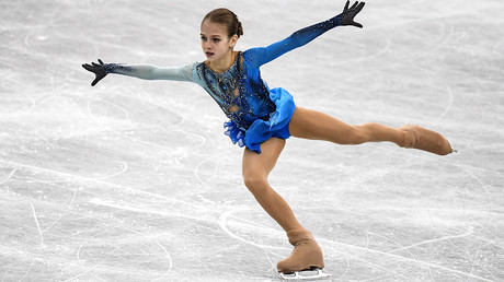 14yo Russian Trusova wins Junior Grand Prix stage, lands quad