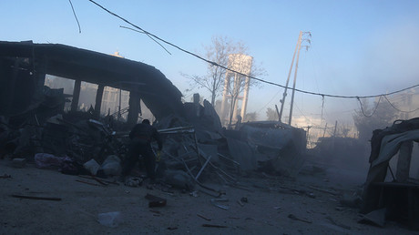37 killed, dozens injured in militant shelling of Eastern Ghouta market (VIDEO)