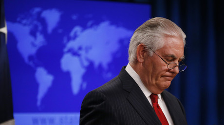High-ranking State Dept. official sacked after saying Tillerson was fired in a tweet