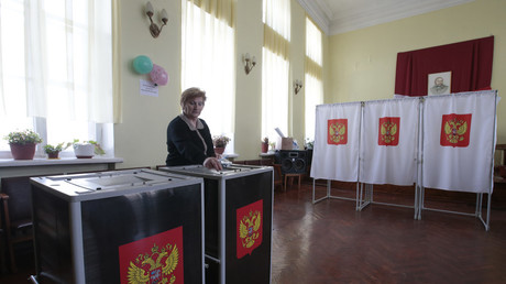 Russians vote in presidential election across 11 time zones