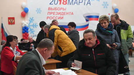 Russian presidential election violations halve compared to 2012
