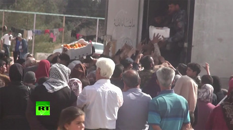 '5 years of suffering over': Thousands safe after fleeing militant-occupied E. Ghouta (VIDEO)
