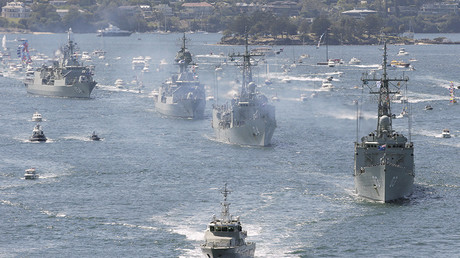 FILE PHOTO: Royal Australian Navy warships © Steve Christo