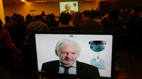 Assange agrees to share 'evidence' in Cambridge Analytica probe by British MPs