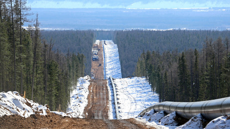 Russian mega gas project with China going full-steam ahead