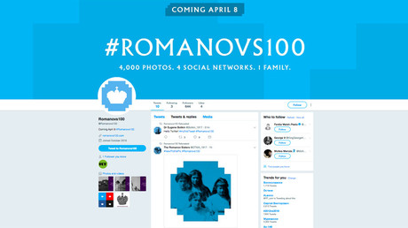 #Romanovs100 go live: Here's how to find the project on Facebook, YouTube, Instagram & Twitter