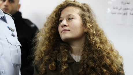 Ahed Tamimi jailed for 8 months after slapping Israeli soldier