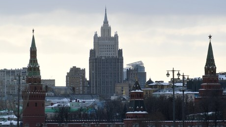 The building of the Russian Foreign Affairs Ministry, Moscow © Ekaterina Chesnokova