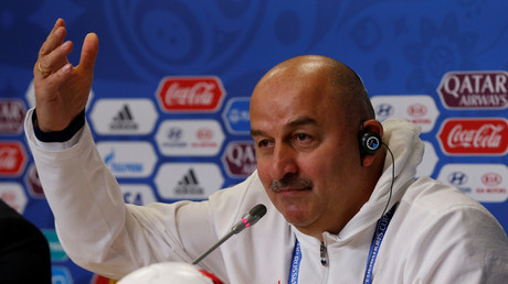 """The officer took a bite and drank some blood.. God bless him!"" – Russia coach on doping & Brazil"