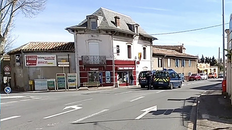 WATCH LIVE: Police op at scene of reportedly ISIS-linked hostage-taking in southwestern France
