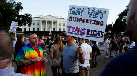 Trump bans transgenders from US military service 'except under limited circumstances'