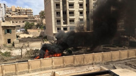 Two dead as car bomb explodes in Egyptian city of Alexandria
