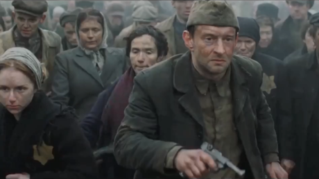 A screenshot from Konstantin Khabensky's movie Sobibor © Cinema Production / Russian Ministry of Culture