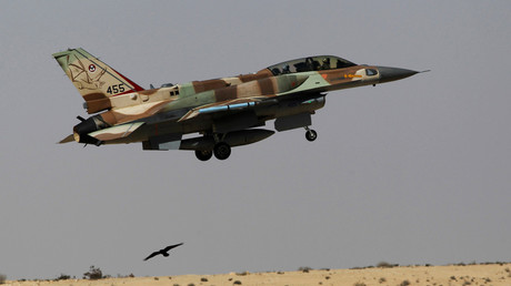 FILE PHOTO: An Israeli F-16 fighter jet © Amir Cohen