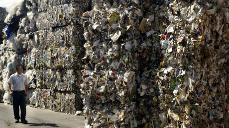 Trash wars: US drowning in its own waste, blaming China for rejecting recycled commodities
