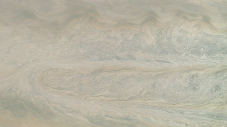 'Ghost in motion': NASA shares animation of Jupiter storm caught by Juno probe