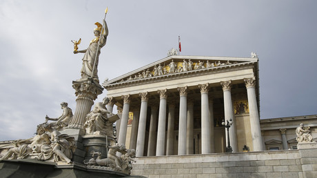 The Austrian parliament building in Vienna. © Heinz-Peter Bader / Reuters