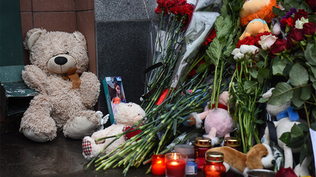 'We are with you': People worldwide pay tribute to victims of tragic mall blaze in Russia (PHOTOS)