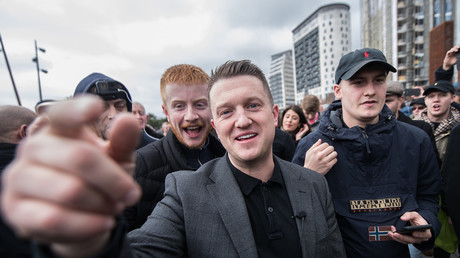 'Free speech is dead': Tommy Robinson's 'ban' from Twitter sparks outrage and joy